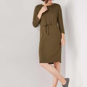 Joe Fresh Khaki Green Batwing Dress
